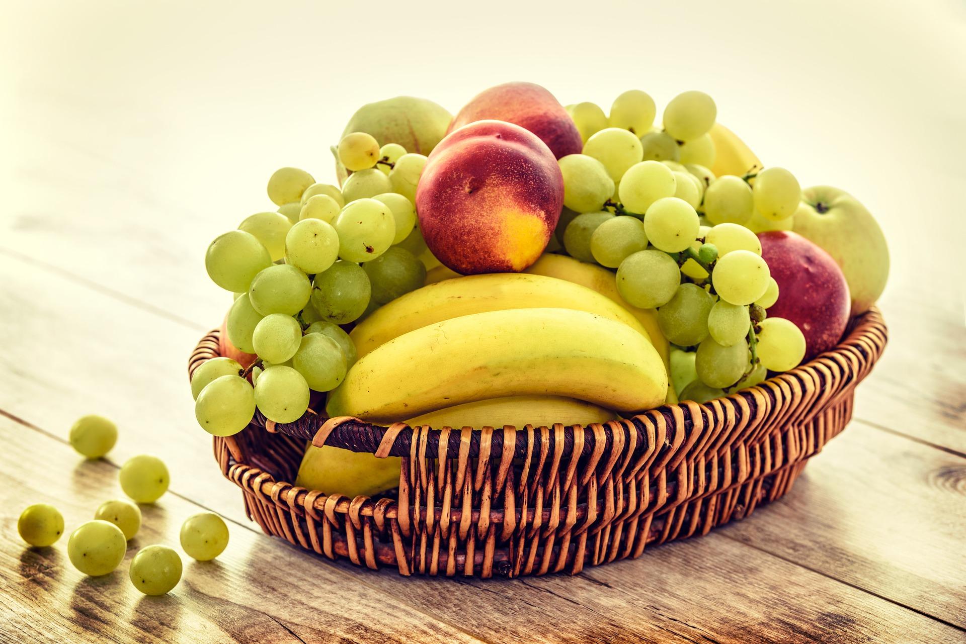 Obstkorb für Fimen